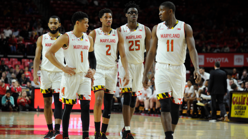 Maryland Basketball Terrapins States