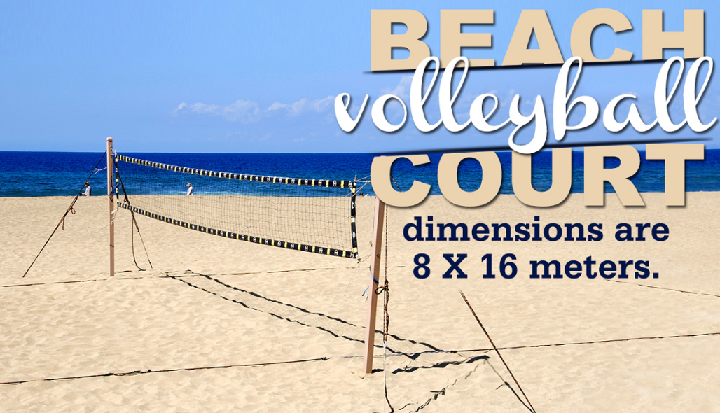 Volleyball Court Diagram With Measurements  U2013 Go Sports