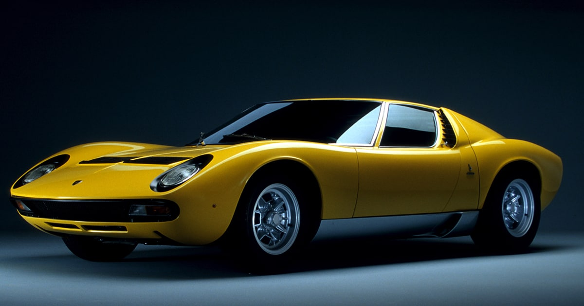 A Guide to the Iconic Old Lamborghini Models