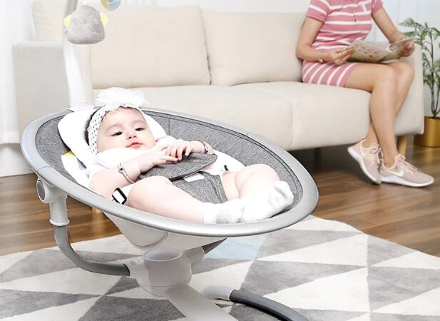 New (and Busy) percents Need Baby Swings and Bouncers