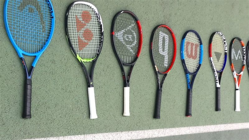 What are the best tennis rackets for serve and volley players ?