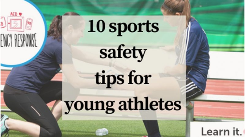 10 sports safety tips for young athletes